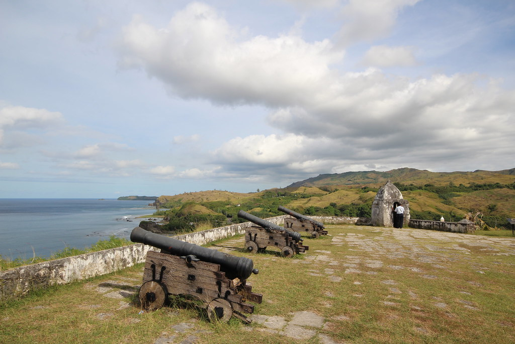 Fort Overlooking the Philippine Sea