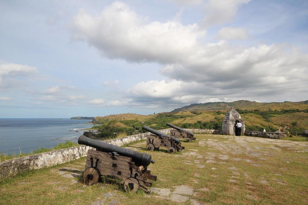 Fort Overlooking the Philippine Sea