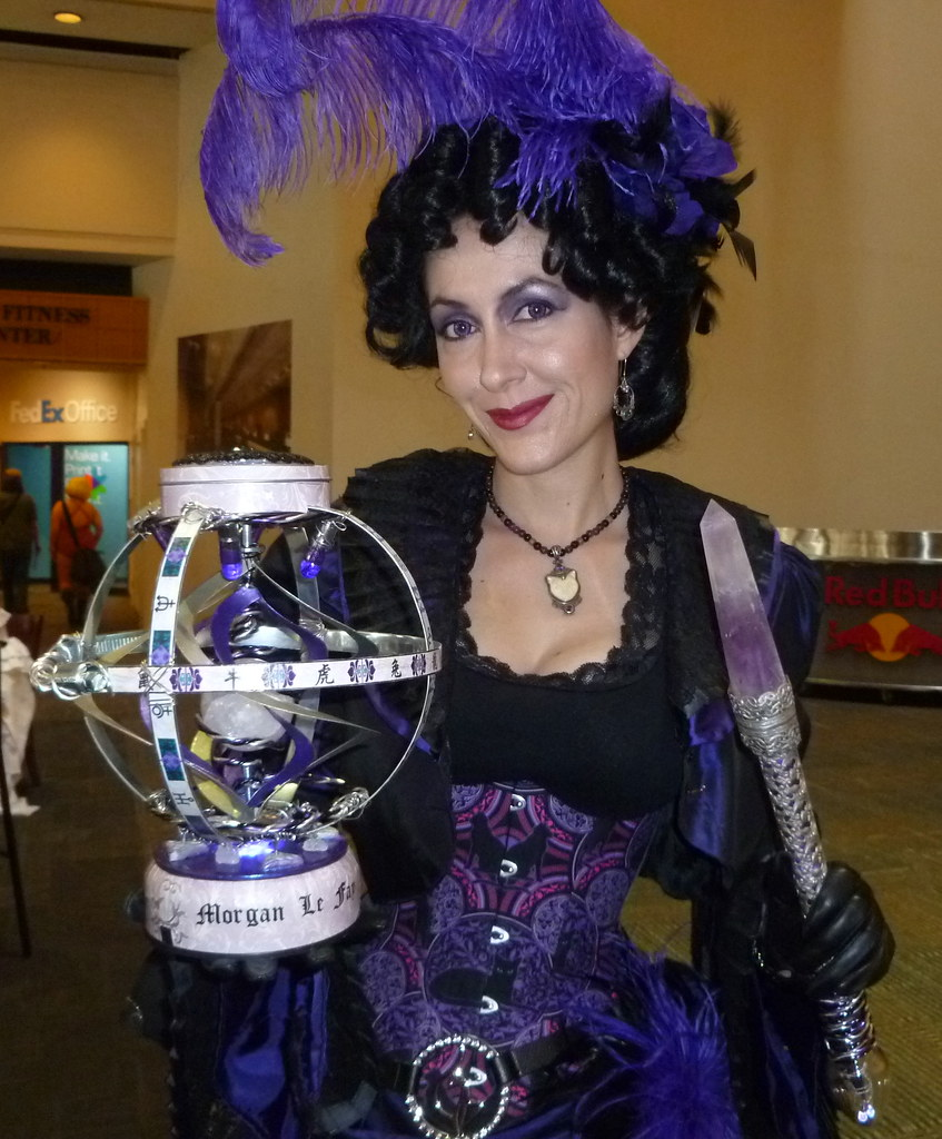 Steampunk Morgan le Fay 1