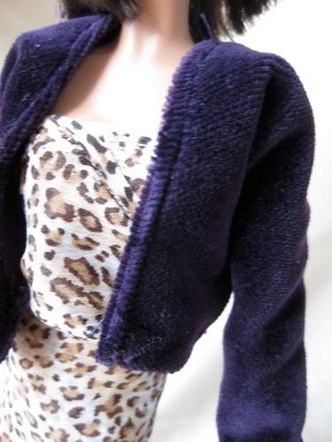 velvet coat detail