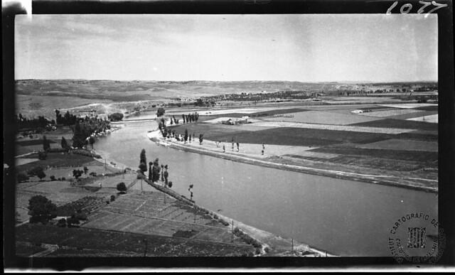 Playa de Safont y Huerta del Rey en 1933. Fotografía de Gonzalo de Reparaz Ruiz. © Institut Cartogràfic de Catalunya