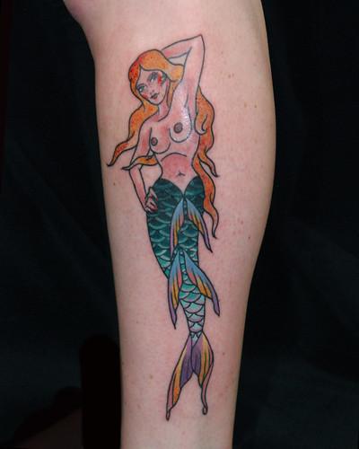 Mermaid by Levi Polzin  by UndertheNeedle