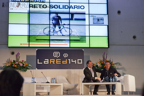 #lared140: reto solidario | by Antonio J Perez