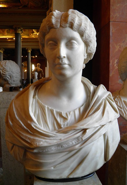 The empress Faustina the Younger, from the outskirts of Tivoli, Louvre Museum