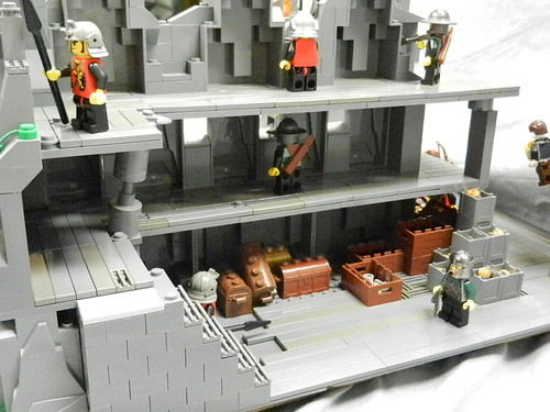 Lego Mountain Fortress 023