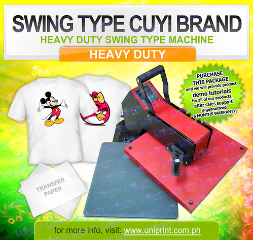Swing Heat Press
