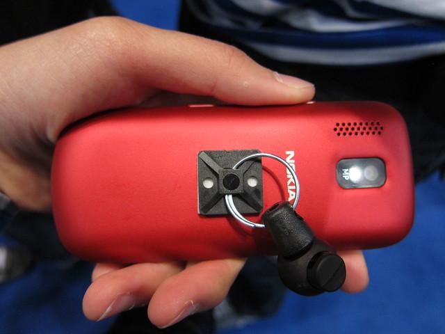 Nokia Asha 202 - Back