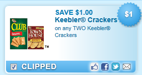Keebler Crackers  Coupon
