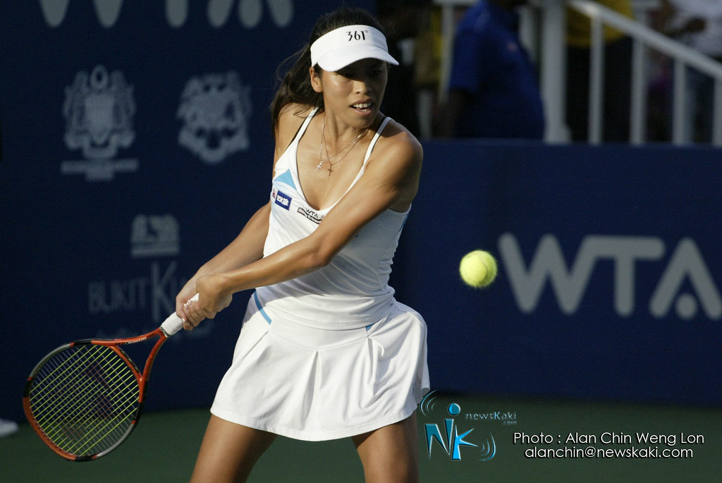 Hsieh Su Wei BMW Malaysia Open 2012 Woman's Final