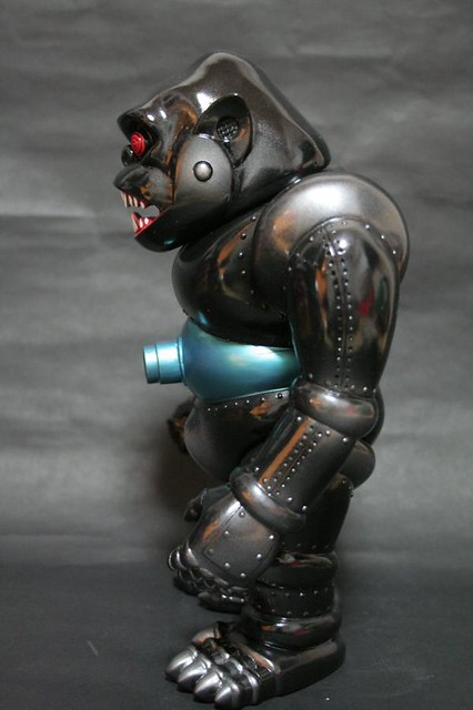 Black Beast Mecha Gorilla