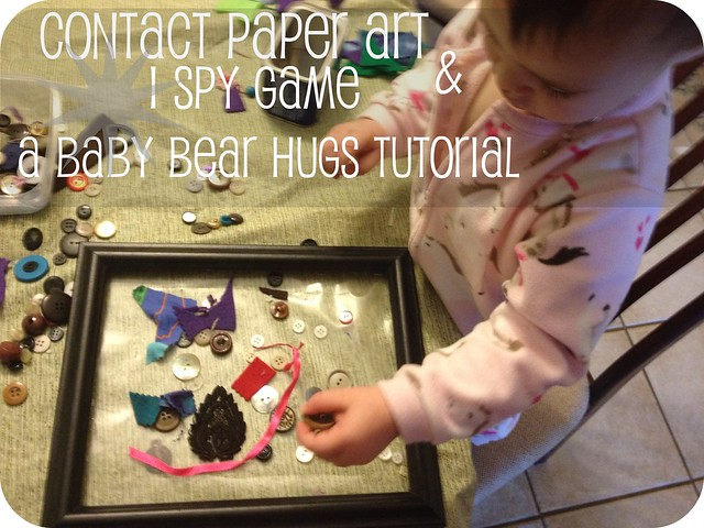 tutorial for contact paper and ispy