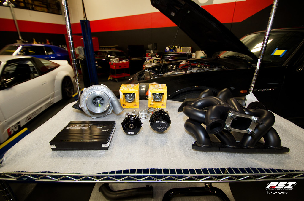 Full Race Turbo Kit S2000 - part 1