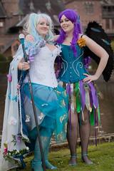 2012-04-21 Elf Fantasy Fair, edition Haarzuilens 2012, Eline & Inouchka