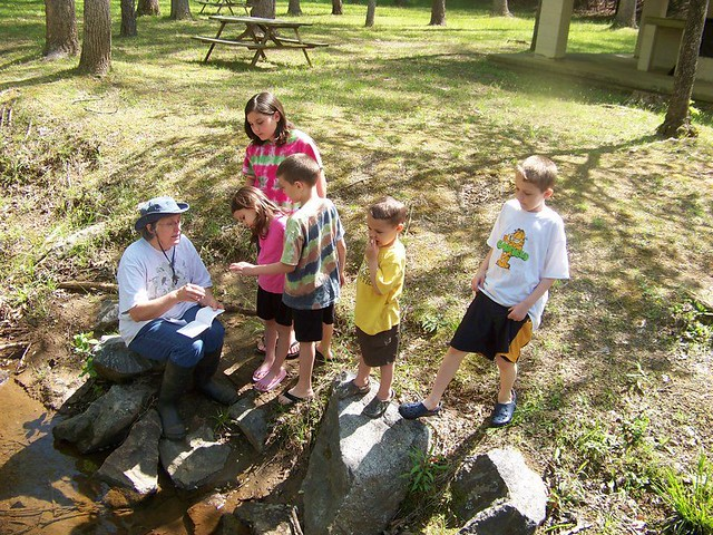 Master Naturalists had special activities for Kids at Fairy Stone State Park