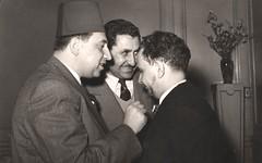 مع علال الفاسي والشاذلي المكي - 1962