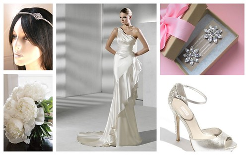 {Modern Glam} Bridal Style by Nina Renee Designs