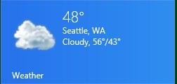 Weatherウィジット