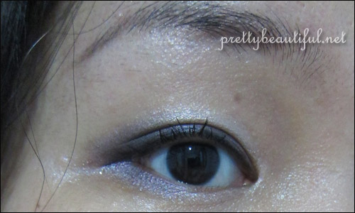 Dior Rose Porcelain on Eye