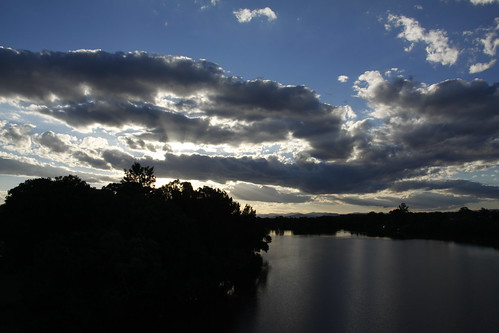 sunset clouds nsw taree manningriver cundletown