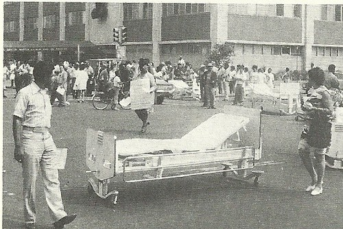 1972 Harlem Hospital Workers Protest, Harlem, NYC (New York Times)
