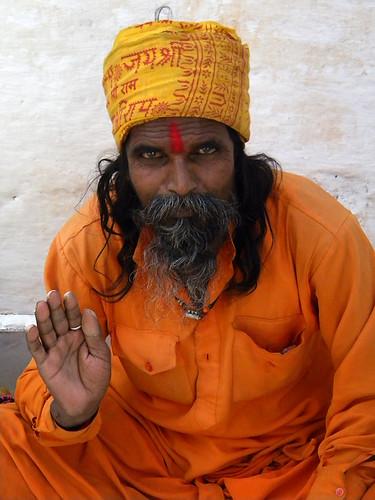 holyman in Udaipur