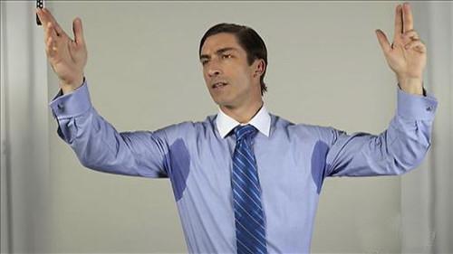 Armpit Sweat Stains