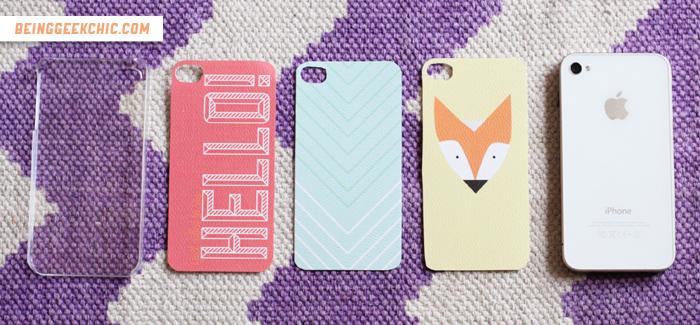 best website 37b7b 896b4 DIY Weekend: Interchangeable iPhone covers (video & freebies!)