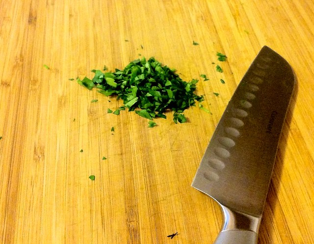 Chopped Italian Flat Leaf Parsley