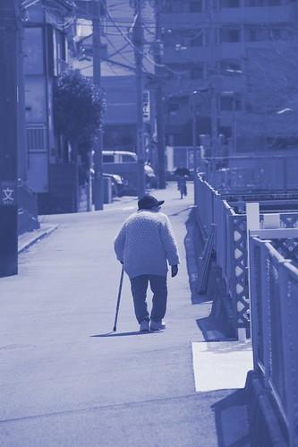 せせらぎ緑道〜建功寺