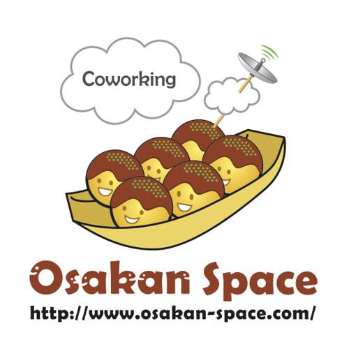 オオサカンスペースのロゴ(正方形)