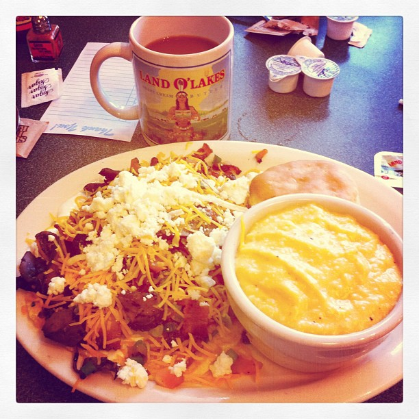 #Breakfast Rachael ray special :)