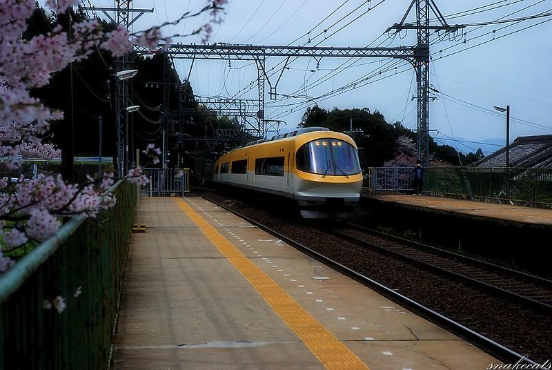 近鉄23000系電車  長谷寺駅 - 奈良