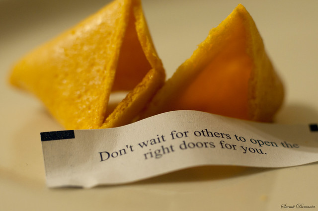 Day 8: Wise sayings of a fortune cookie