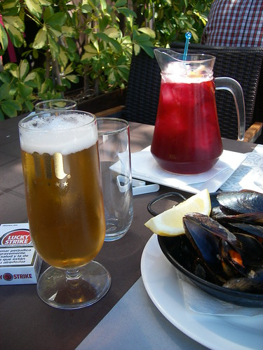 Salou | La Barca | Sangría y cerveza