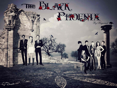 (10-55) The Black Phoenix by G-Dara21