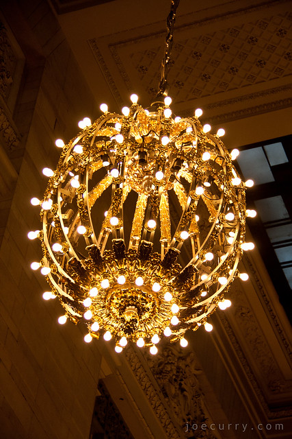 Grand Central Terminal chandelier