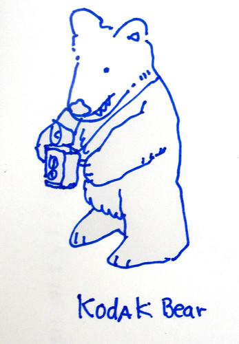 A Kodak Bear