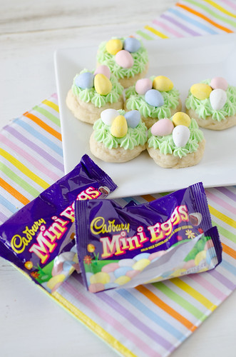 Easter Nest Sugar Cookies 5