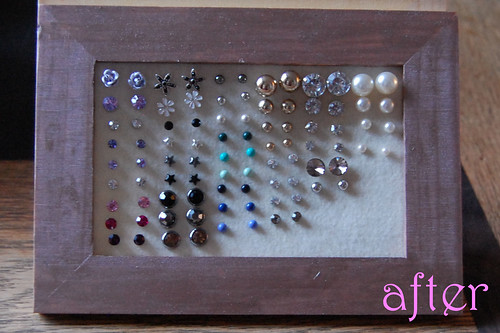 after earring frame tutorial