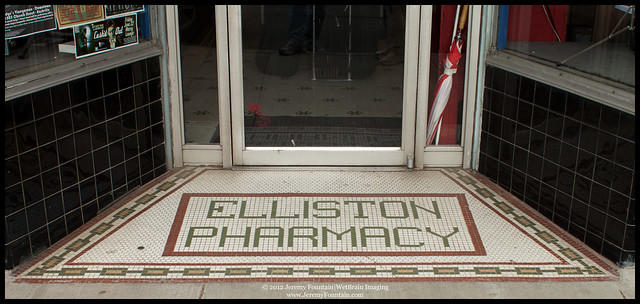 Former Elliston Pharmacy