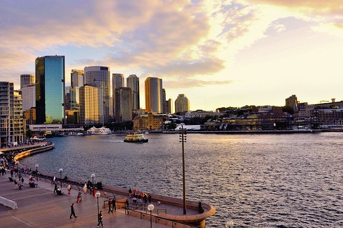Sunset at Circular Quay