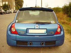 Renault Sport Clio V6-rear