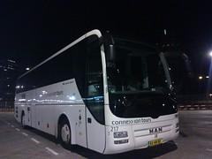 Connexxion Tours 217, Utrecht busstation West buffer. 19-03-14