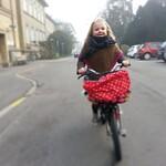Foggy morning school run with The Lulu #copenhagen #thelulu