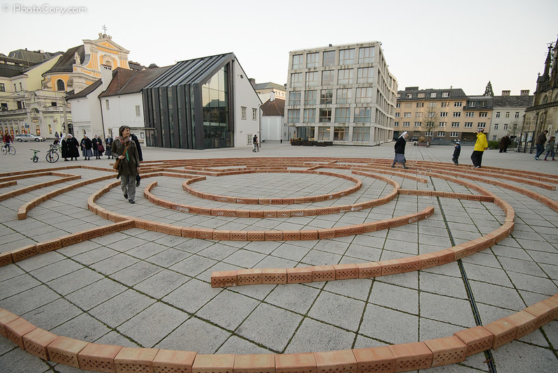 Labyrinth in Linz