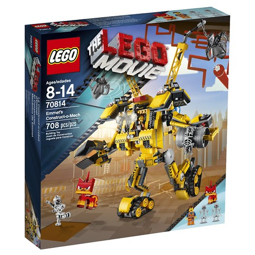 The LEGO Movie 70814 Front