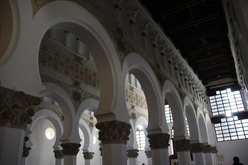 Santa María la Blanca - Synagogue in Toledo