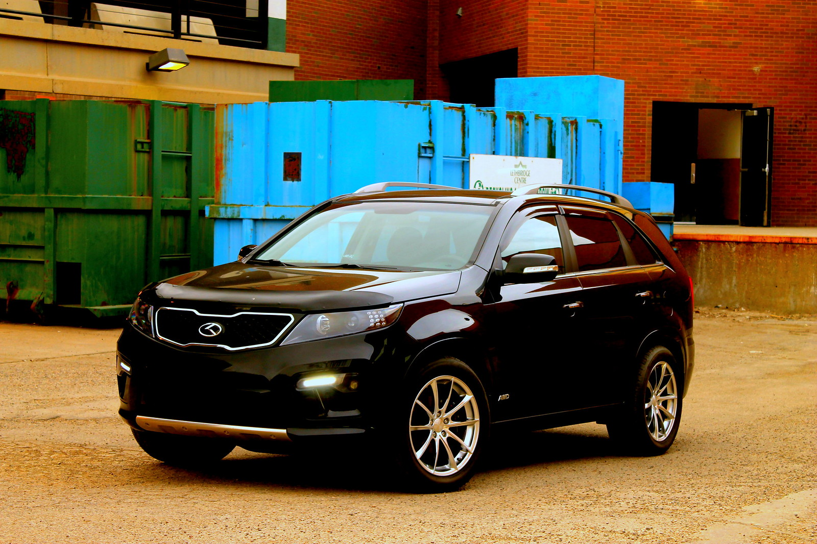 anyone running 20 wheels on their sorento page 2 kia. Black Bedroom Furniture Sets. Home Design Ideas