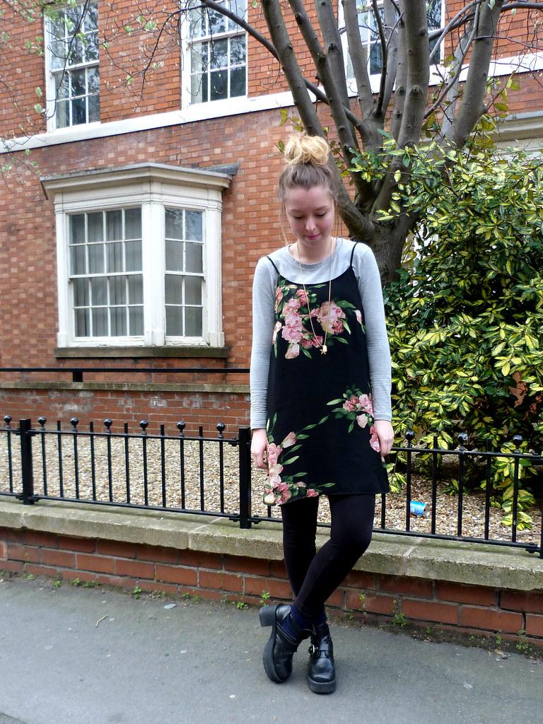 Floral cami dress | #fbloggers | Jazzpad