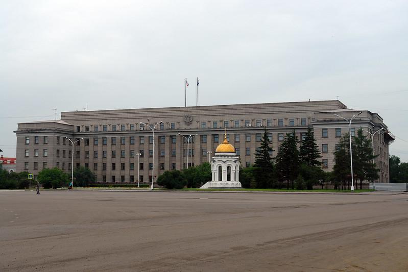 Plaza Kirov de Irkutsk Irkutsk, la venecia siberiana de Rusia - 13831642615 31c3a216b4 c - Irkutsk, la venecia siberiana de Rusia